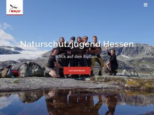 Screenshot NAJU Homepage