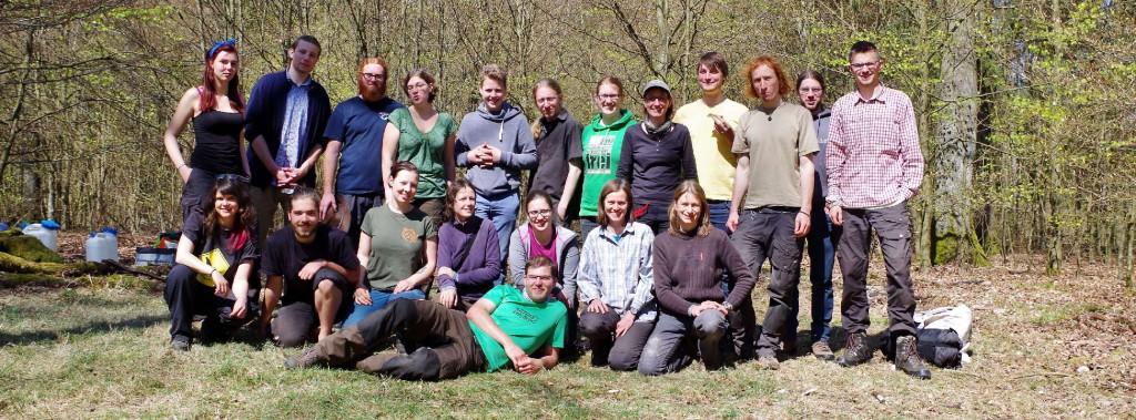 Gruppenbild Wildlife Ausbildung