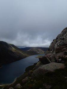 See in einem schottischem Tal