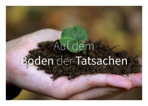 Auf dem Boden der Tatsachen: Boden ist Leben