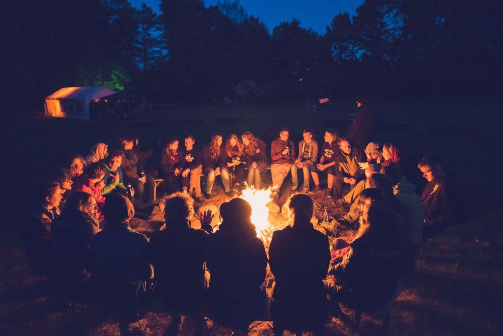 Jugendumweltfestival Lagerfeuer
